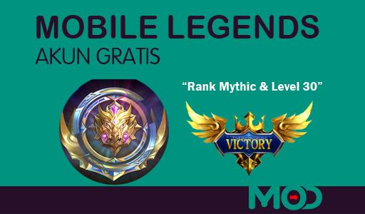 Akun Mobile Legends Gratis