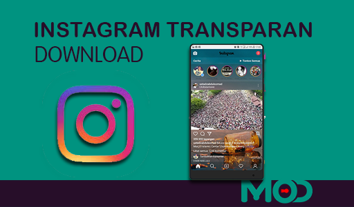 instagram transparan