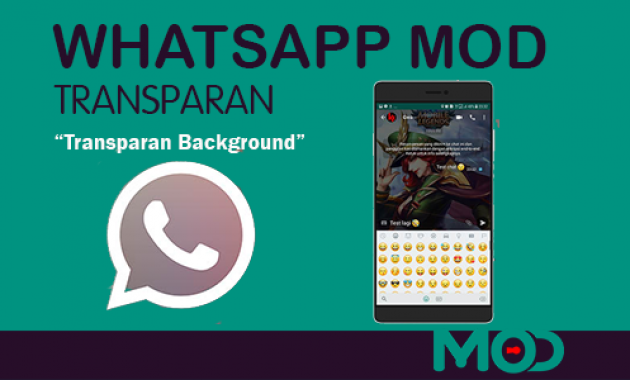 whatsapp transparan