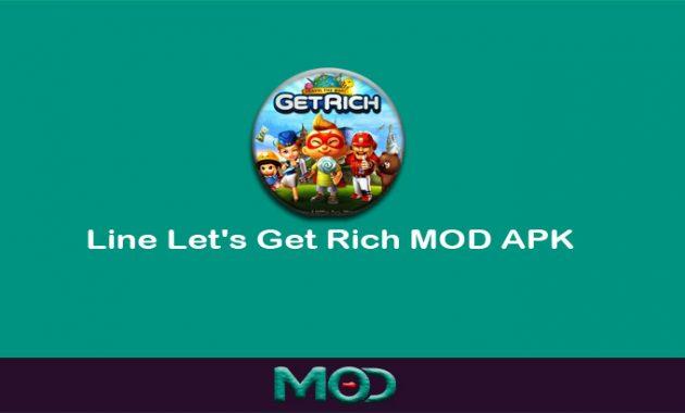 Line Lets Get Rich MOD APK