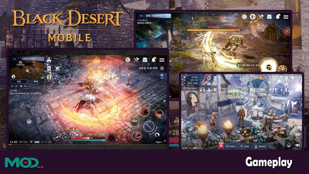 gameplay black desert mobile