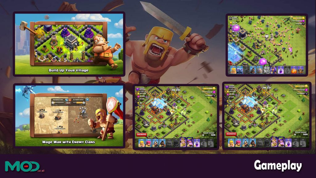 gameplay coc