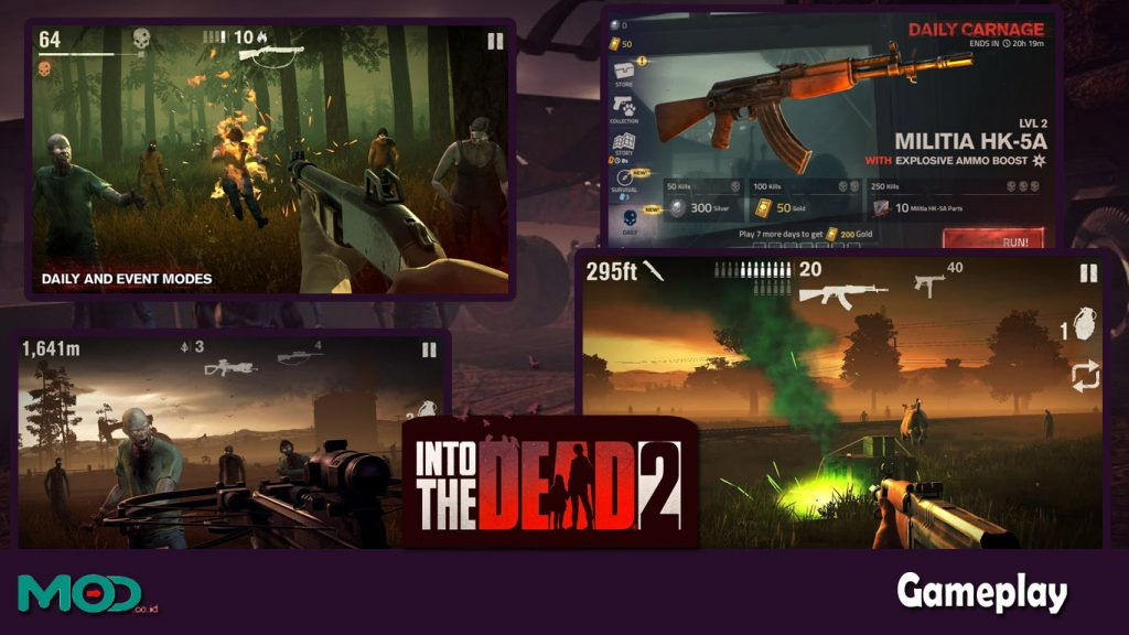 gameplay into the dead 2