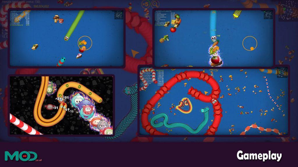 gameplay worm io