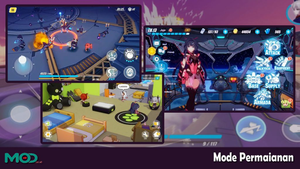 mode game Honkai Impact 3
