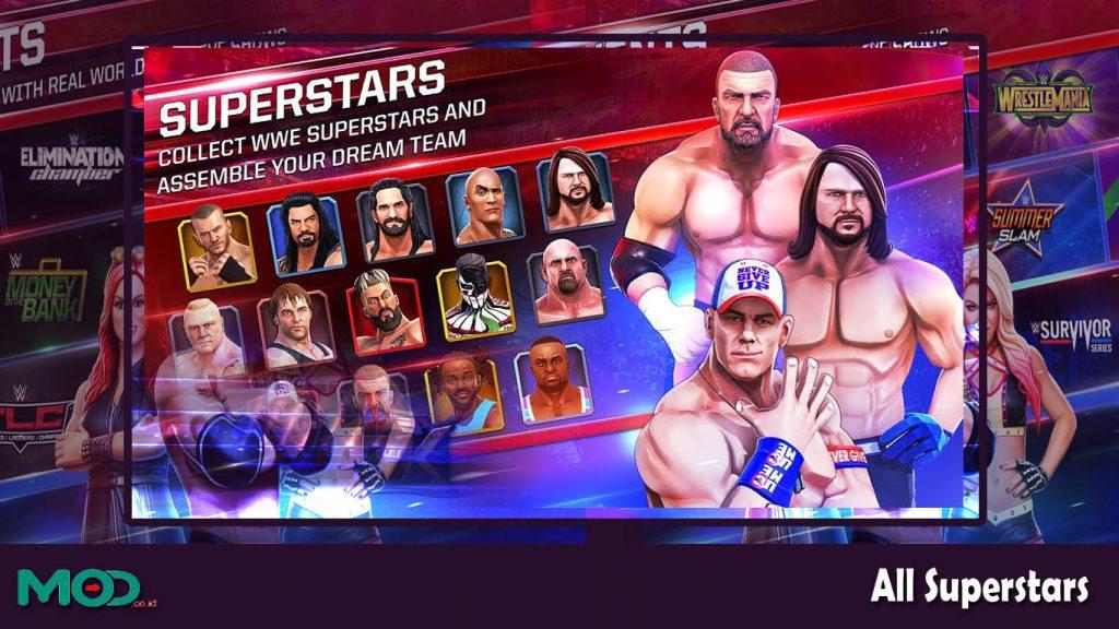 WWE Mayhem Mod Apk