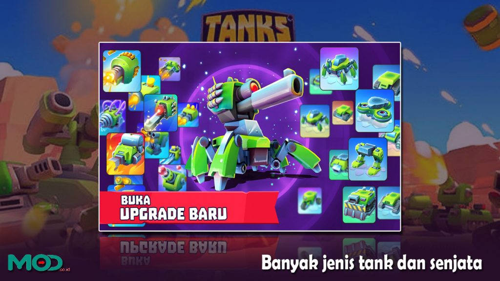 Banyak jenis tank dan senjata tanks a lot
