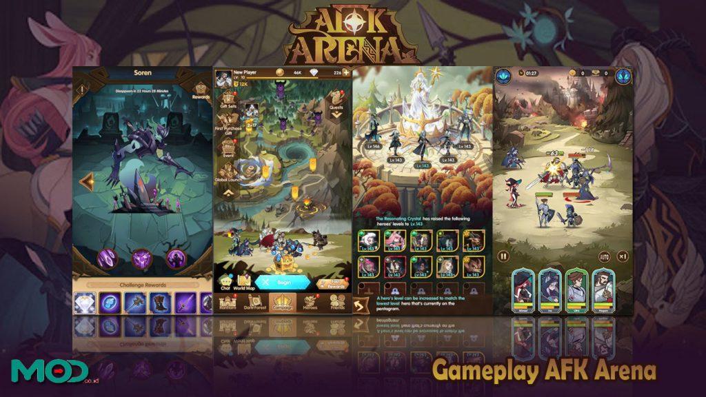 Gameplay AFK Arena