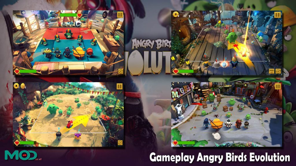 Gameplay Angry Birds Evolution