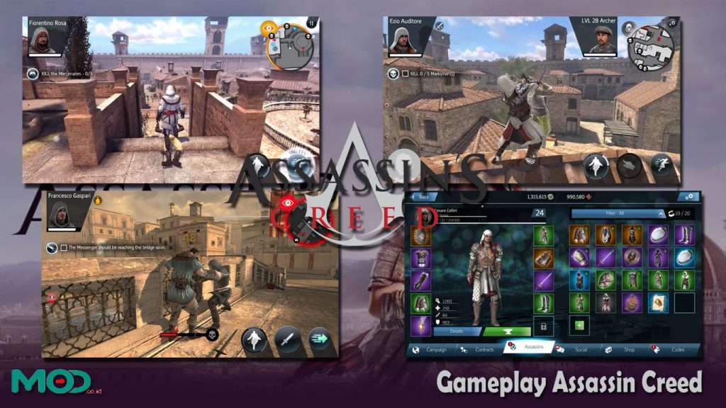 Gameplay Assassin Creed