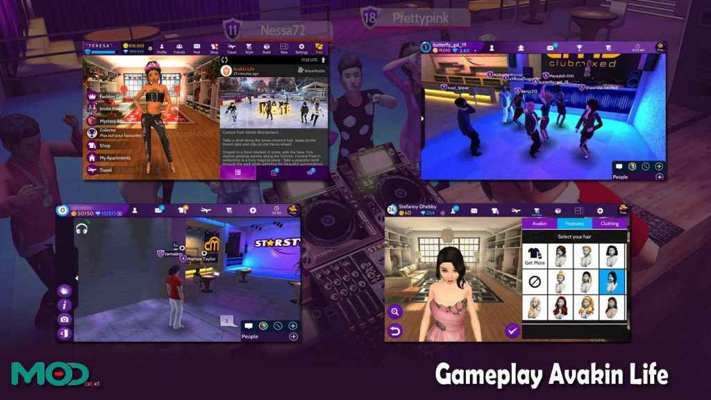 Gameplay Avakin Life