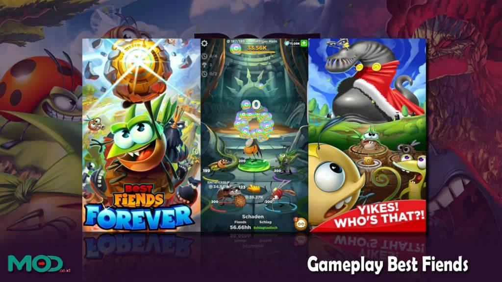 Gameplay Best Fiends