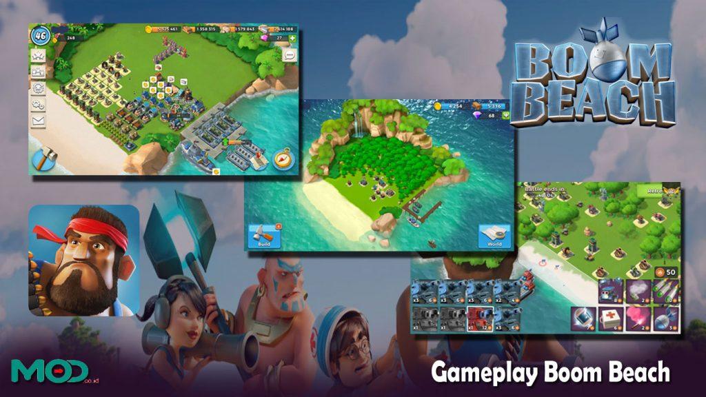Gameplay BoomBeach
