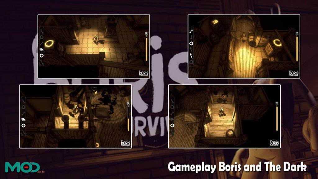 Gameplay Boris and The Dark