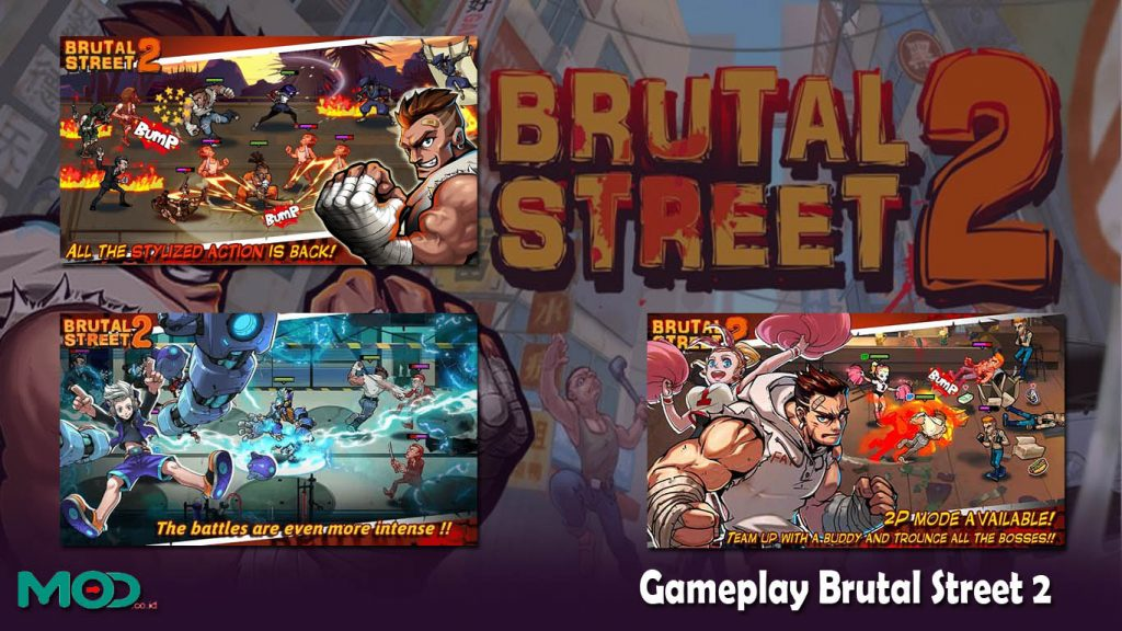 Gameplay Brutal Street 2