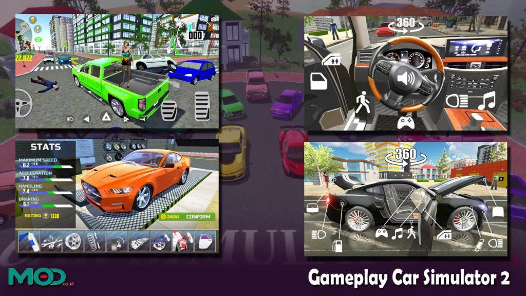 Gameplay Car Simulator 2