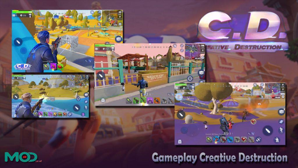 Gameplay Creative Destruction