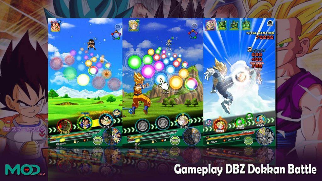 Gameplay DBZ Dokkan Battle