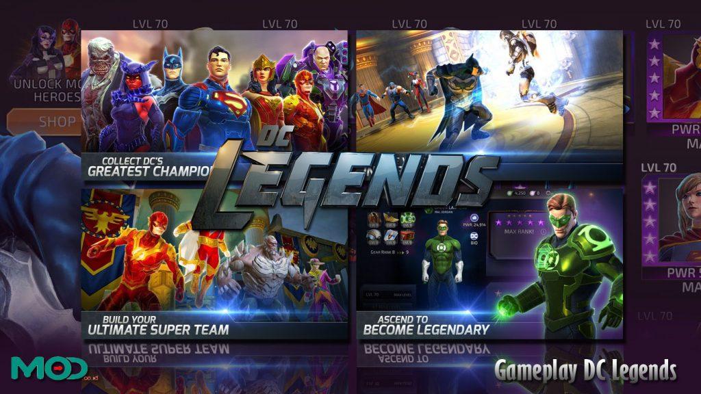 Gameplay DC Legend