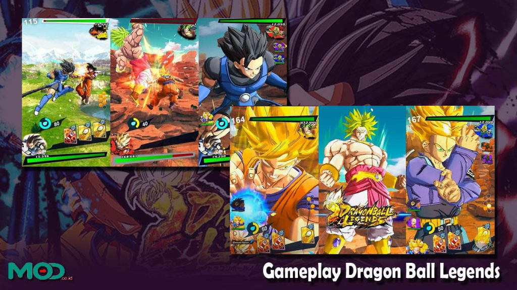 Gameplay Dragon Ball Legends