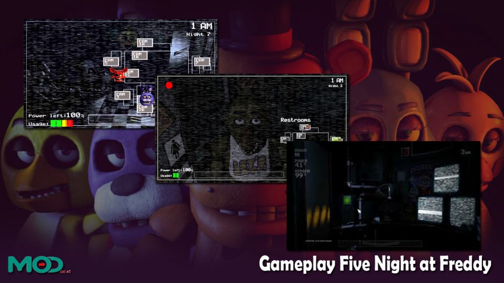 Gameplay Five Night at Freddy