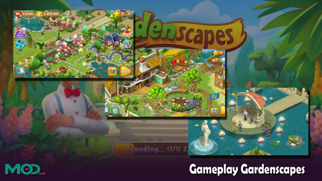 Gameplay Gardenscapes