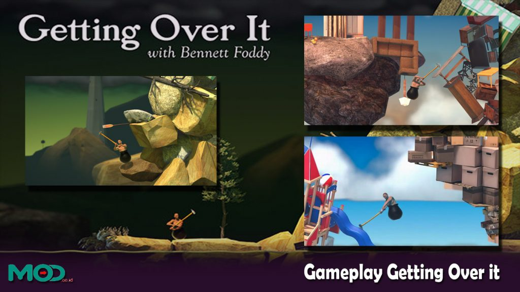 Gameplay Getting Over it