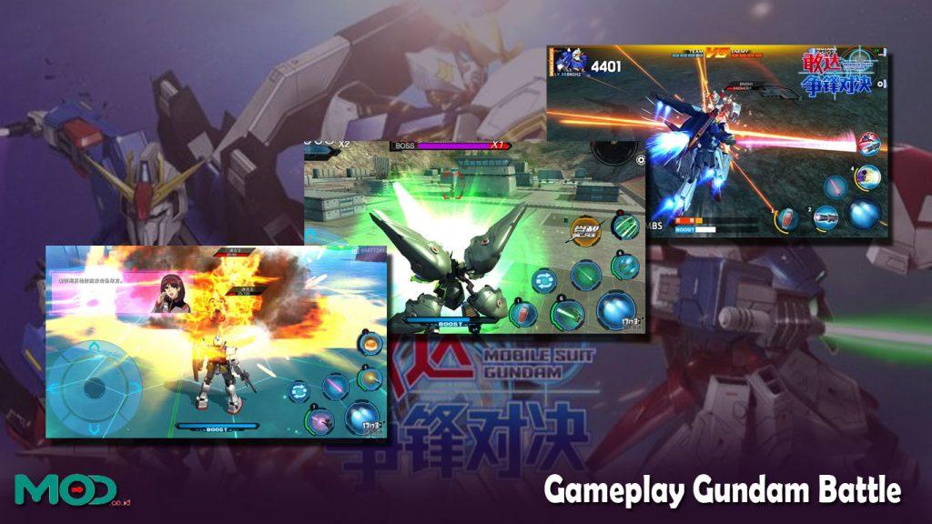 Gameplay Gundam Battle