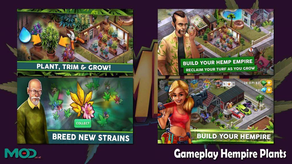 Gameplay Hempire Plants