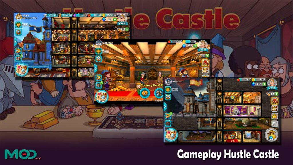 Gameplay Hustle Castle