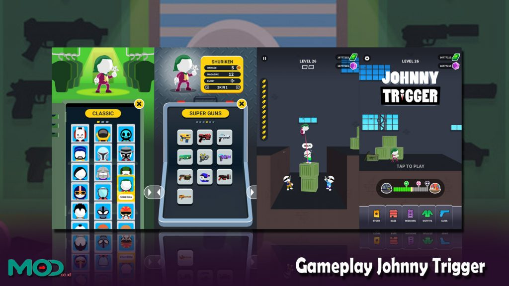 Gameplay Johnny Trigger