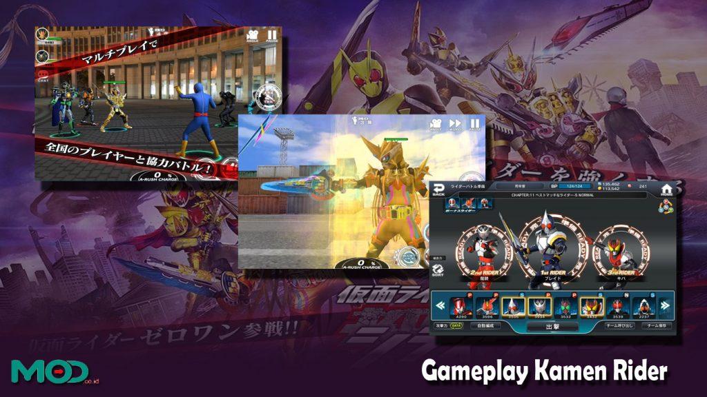 Gameplay Kamen Rider