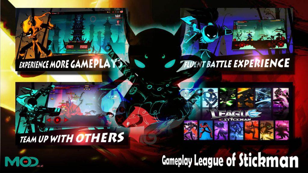 Gameplay League of Stickman