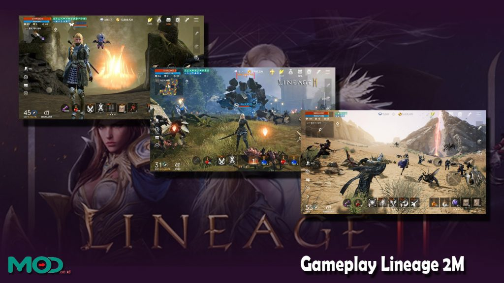 Gameplay Lineage 2M