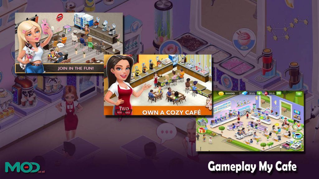 Gameplay My Cafe
