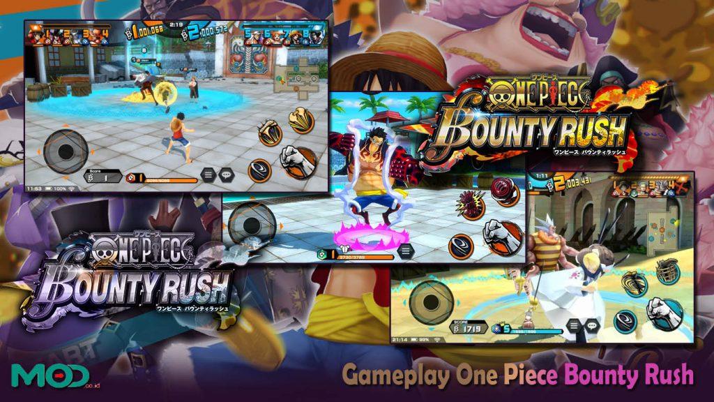 Gameplay One Piece Bounty Rush