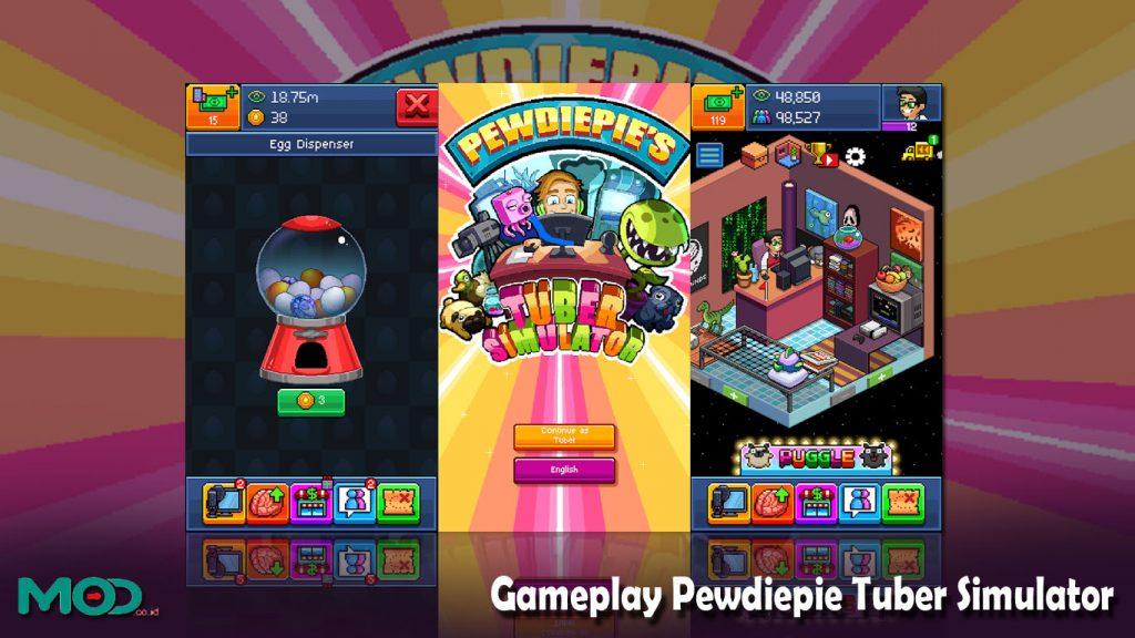 Gameplay Pewdiepie Tuber Simulator