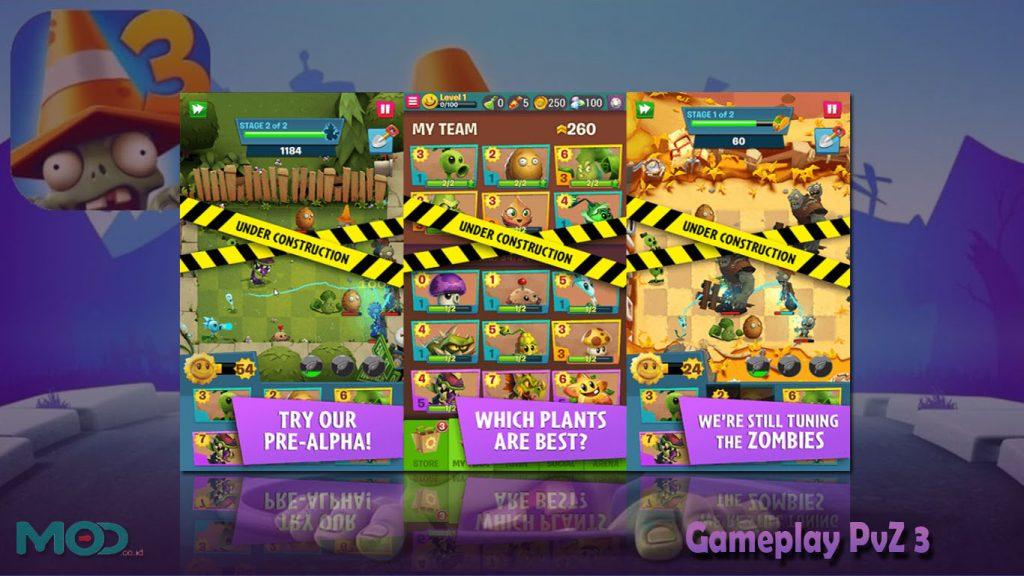 Gameplay PvZ 3