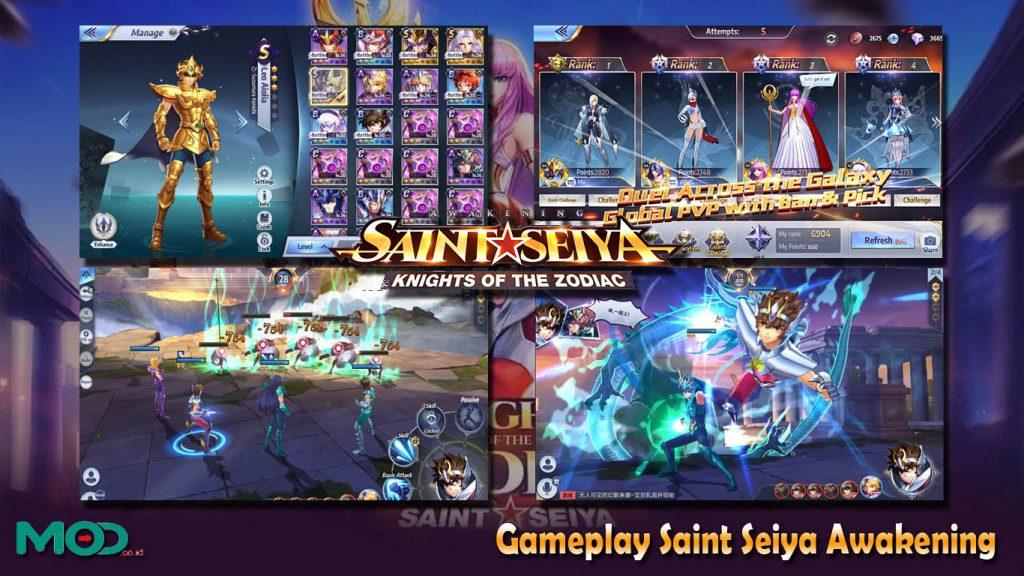 Gameplay Saint Seiya Awakening