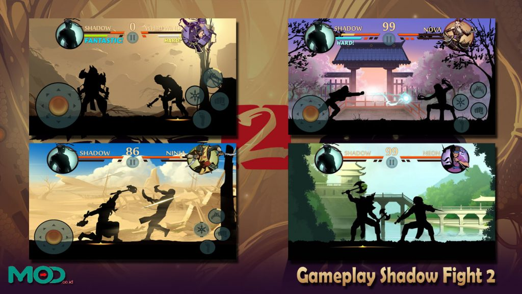 Gameplay Shadow Fight 2