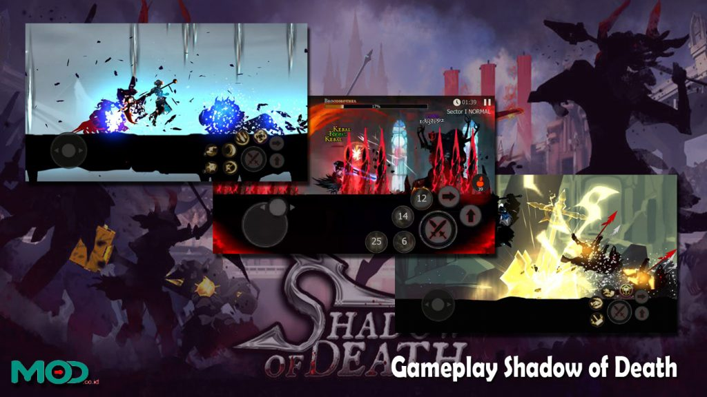 Gameplay Shadow of Death
