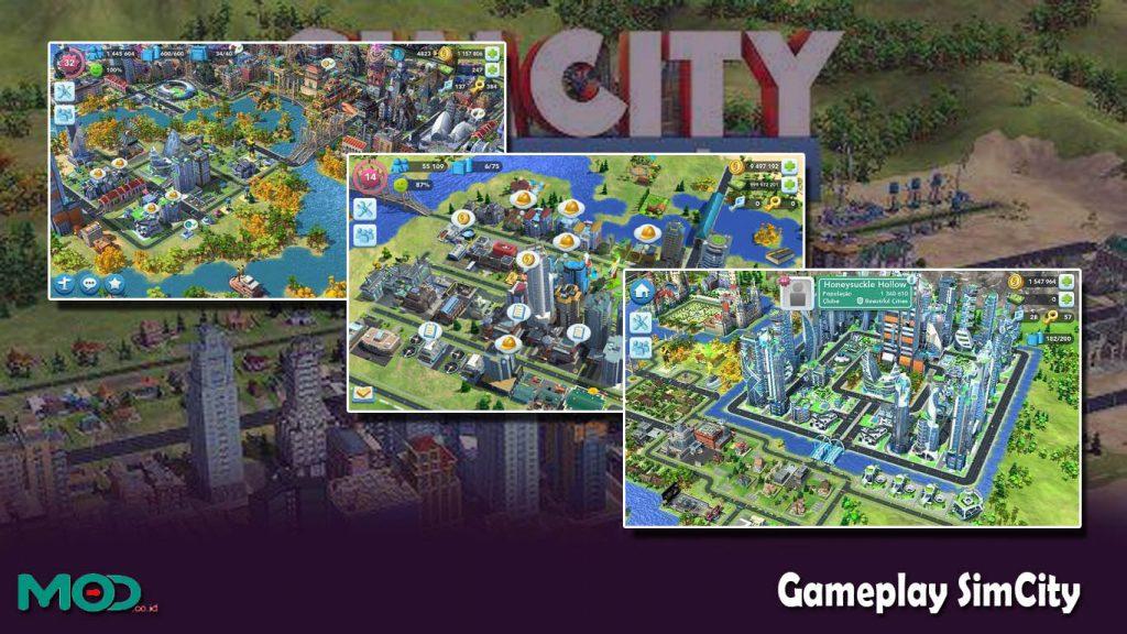 Gameplay SimCity
