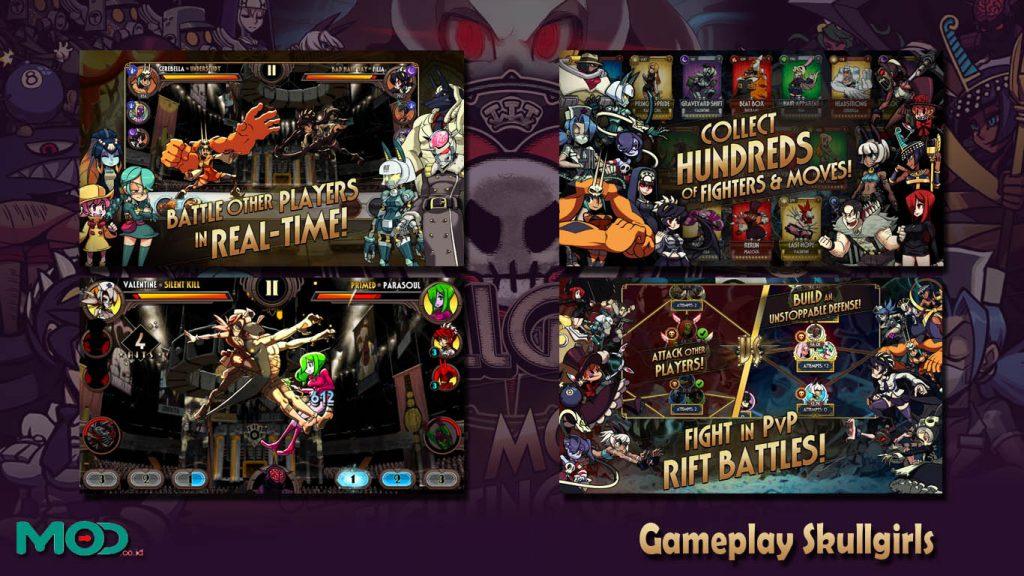 Gameplay Skullgirls
