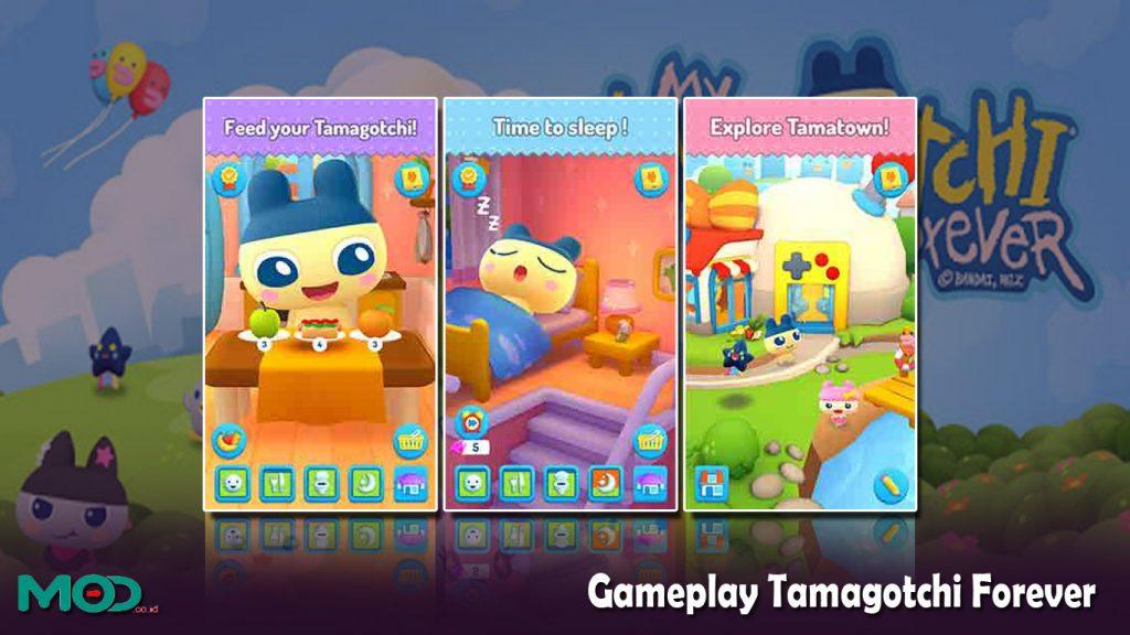 Gameplay Tamagotchi Forever