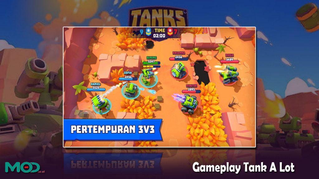 Gameplay Tank A Lot