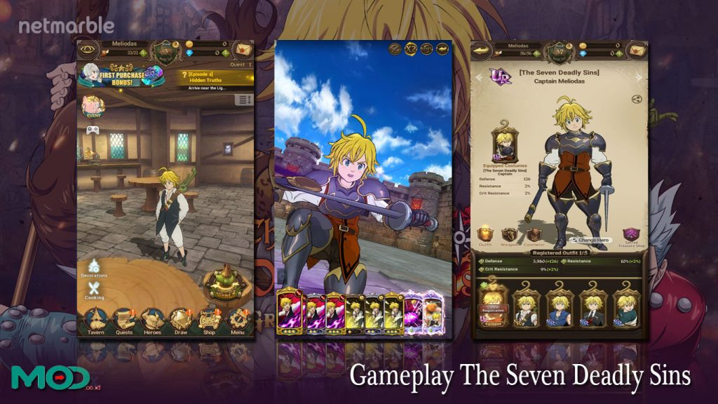 Gameplay The Seven Deadly Sins
