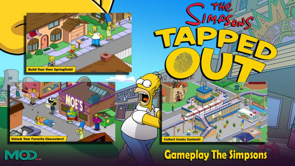 Gameplay The Simpsons