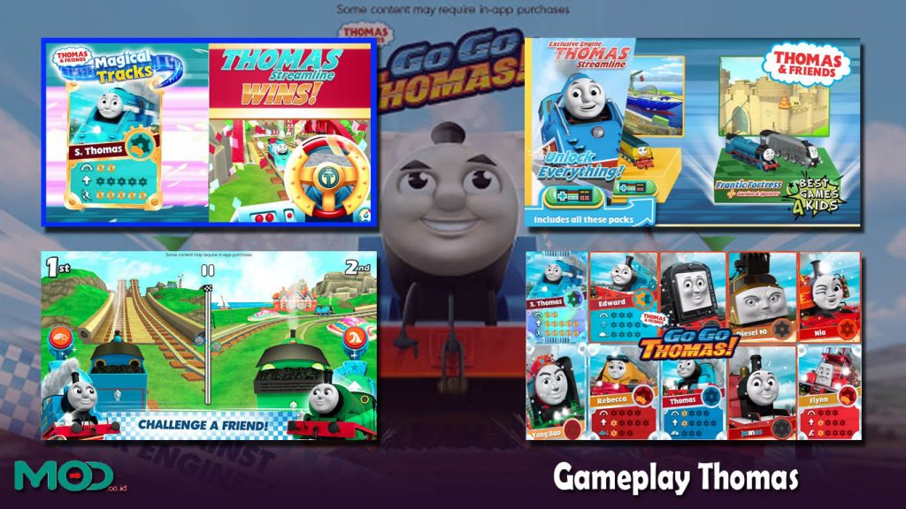 Gameplay Thomas