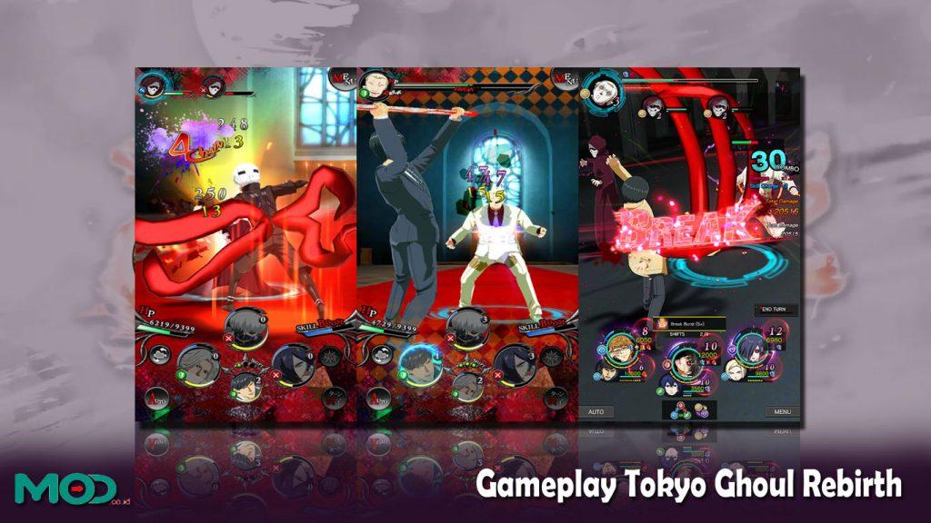 Gameplay Tokyo Ghoul Rebirth