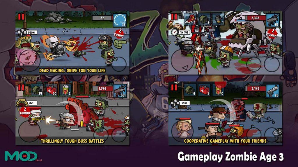 Gameplay Zombie Age 3